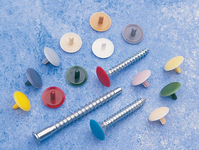 Stemfix Caps work with any head-hole fixings, including SupaChip & Confirmat screws